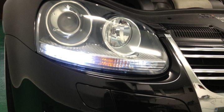 VWフォルクスワーゲンジェッタのポジションランプLED化