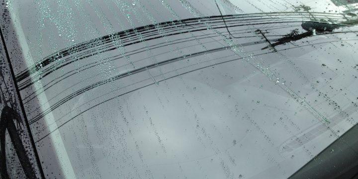 フロントガラス撥水加工後の効果
