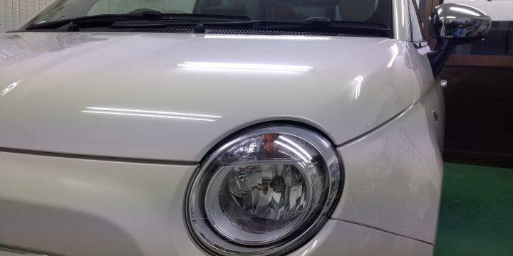 FIATフィアット500エシュロンコーティング
