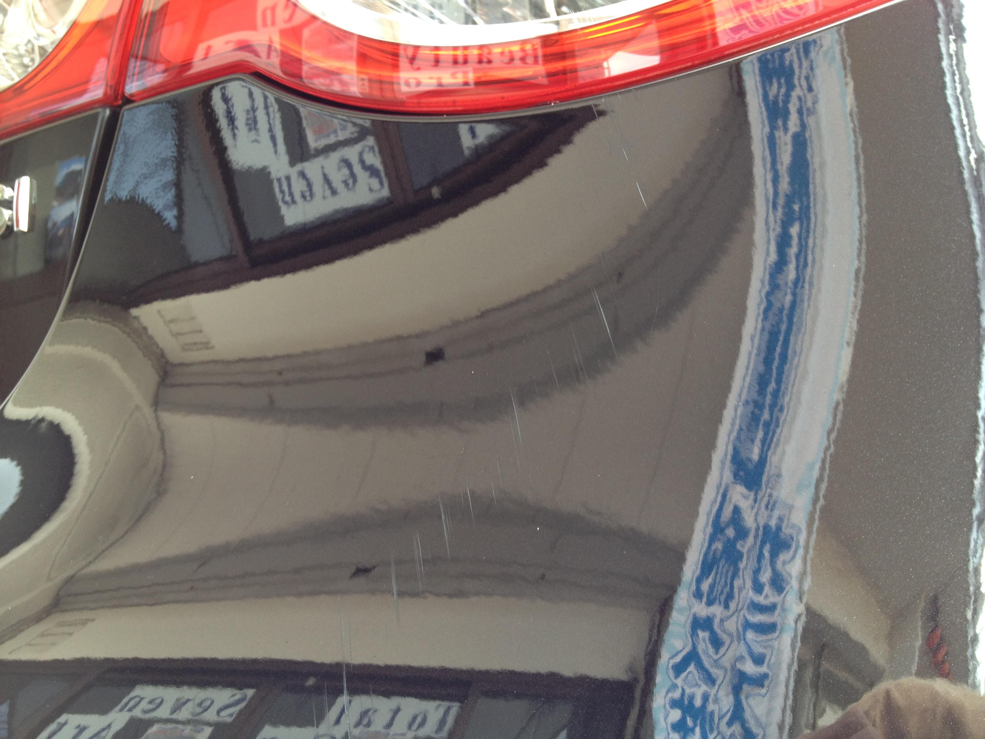 VWフォルクスワーゲンJETTAの擦り傷