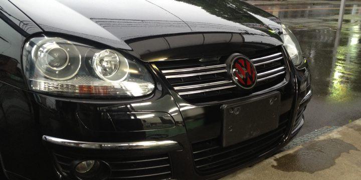 VWフォルクスワーゲン・フロントグリルブラック塗装
