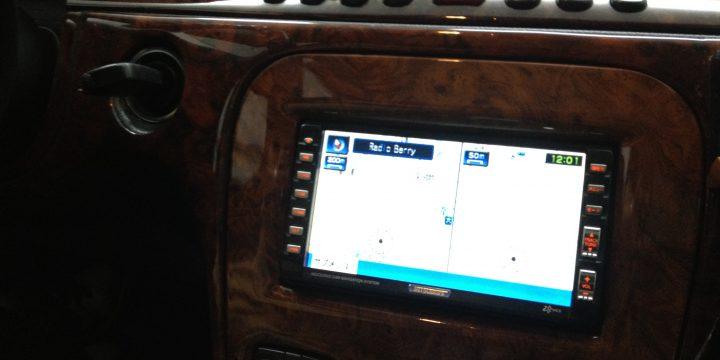 メルセデスベンツW220-S500へナビの取付