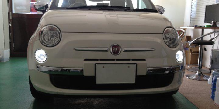 FIATフィアット500ポジションランプLED化