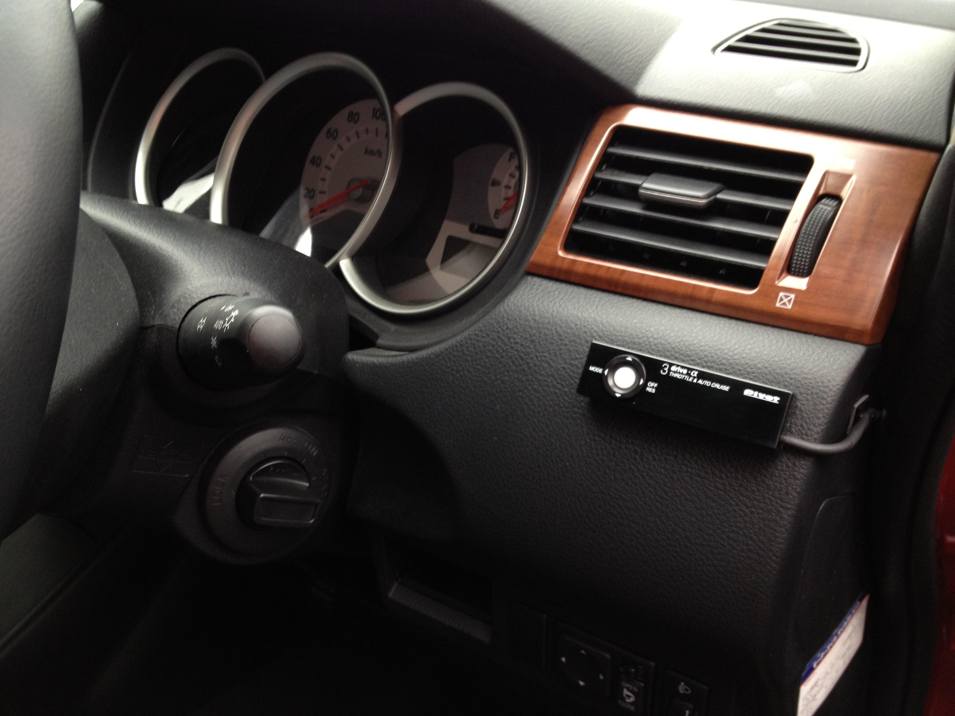 PIVOTクルスコ(クルーズコントロール・スロットルコントロール)3-Drive・αの取付け