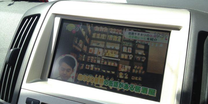 日産セレナ4×4地デジチューナーの映像
