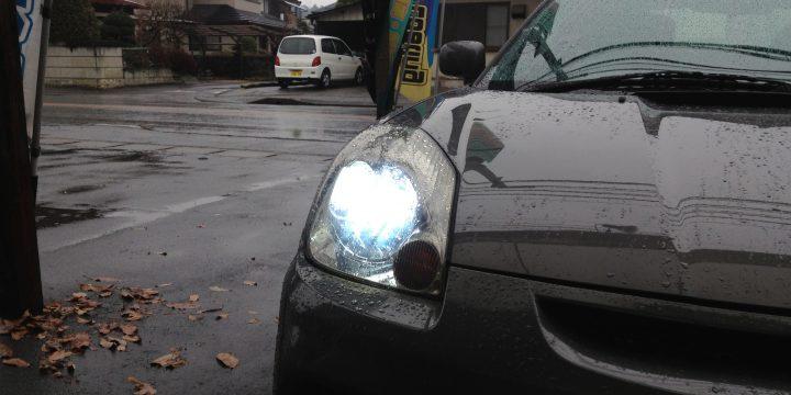 トヨタMR-SヘットライトHiビームをHID化