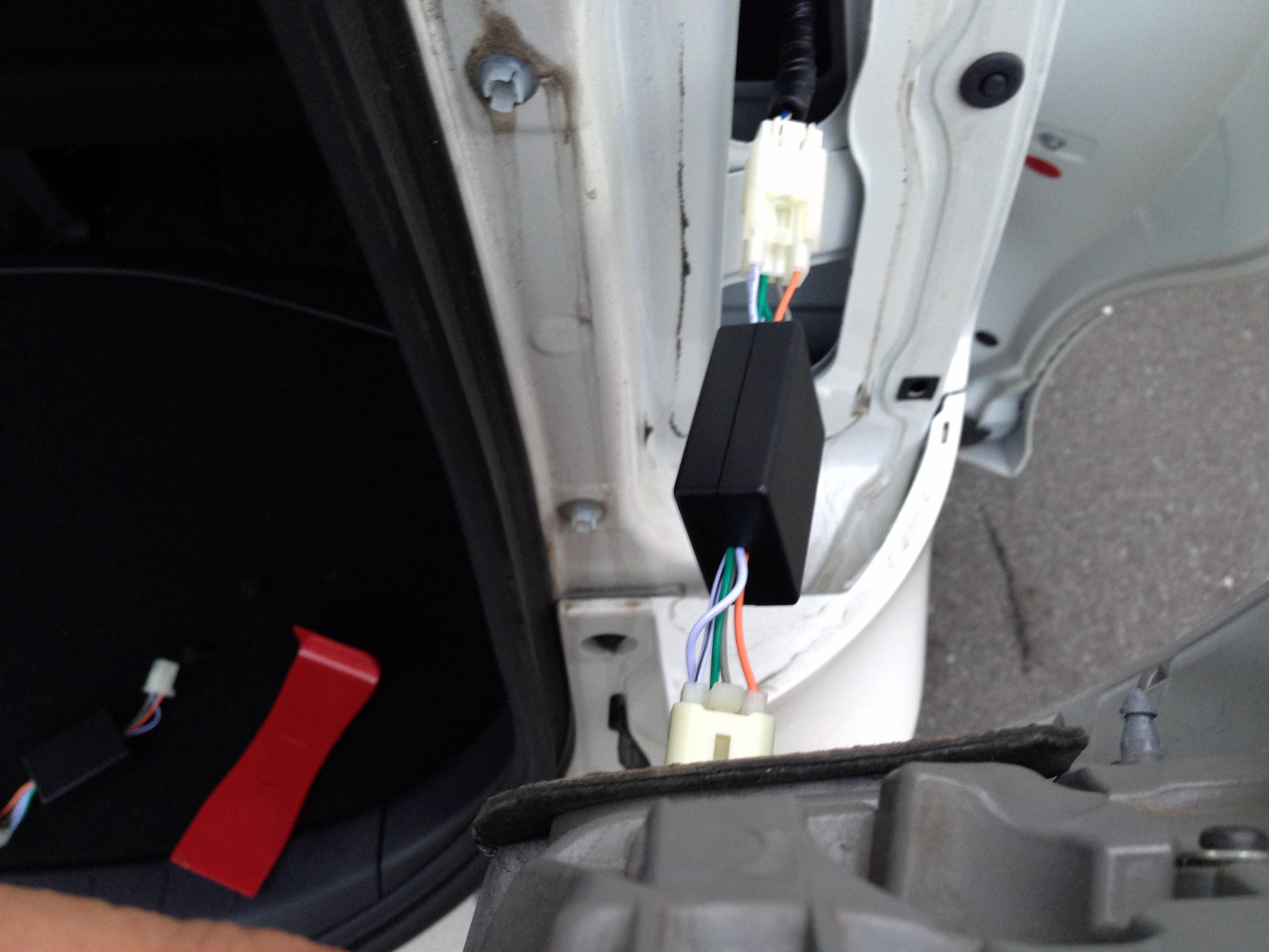 トヨタヴォクシーテールランプ4灯化キット取り付け
