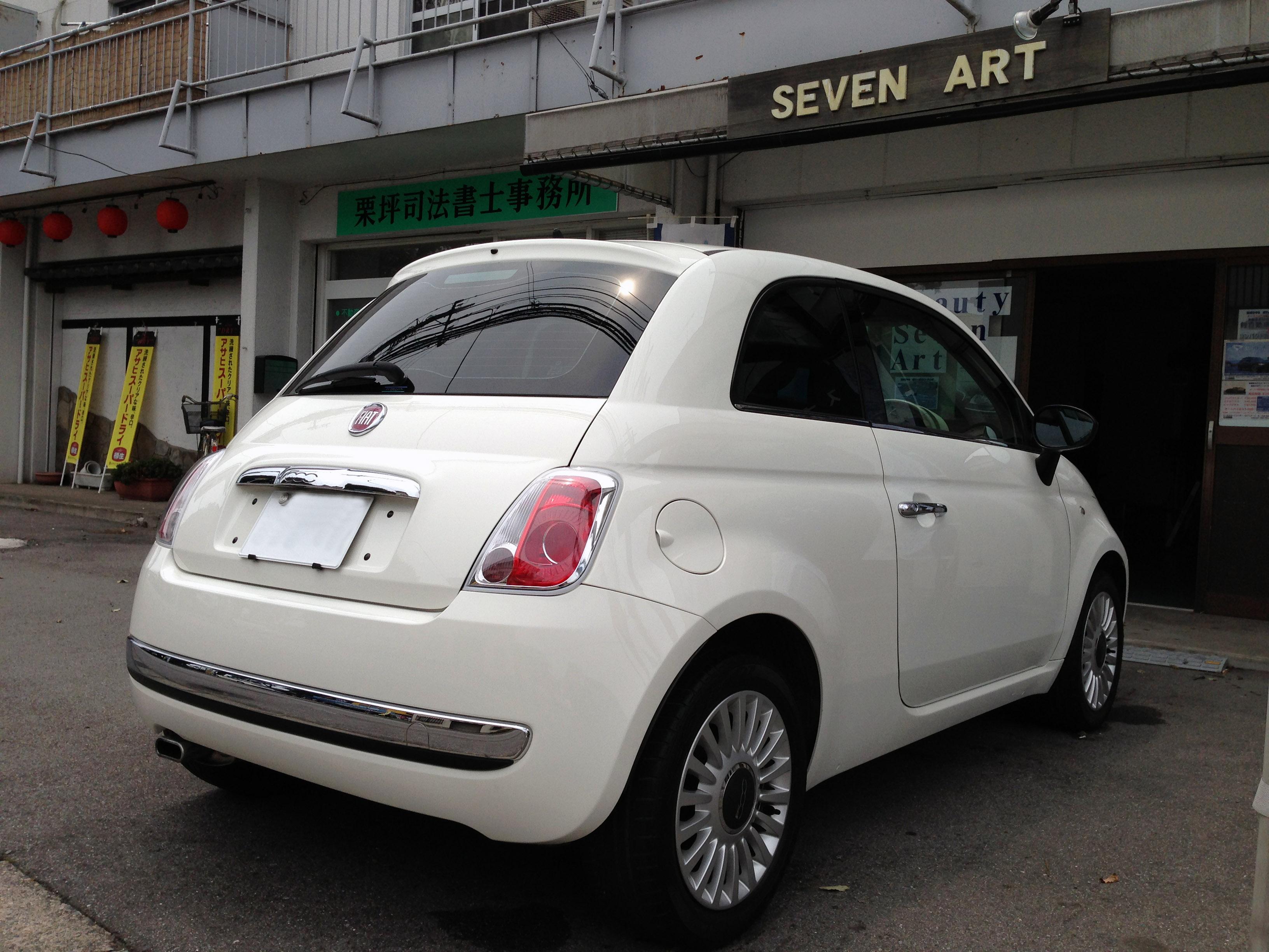 FIAT500へエシュロンZen-Zero施工
