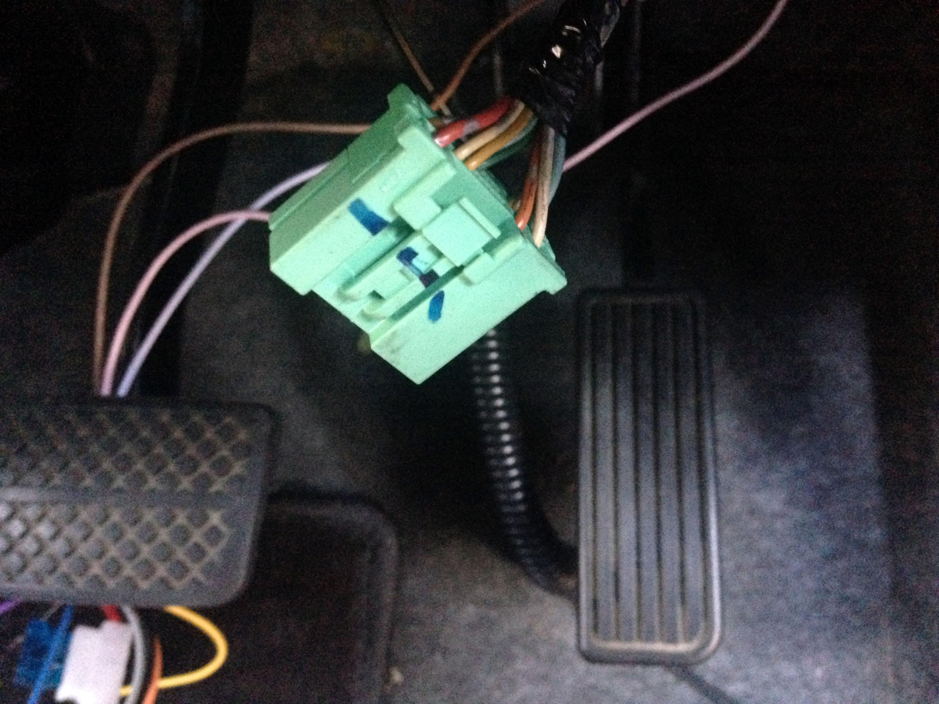 ホンダライフドアロック信号線カプラー