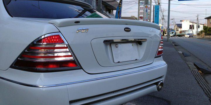 メルセデスベンツS500バックランプLED化