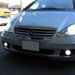W169メルセデスベンツAクラスヘットライト&フォグランプHID化