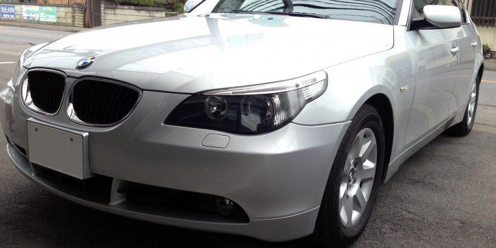 BMW5シリーズエシュロンボディーガラスコーティング施工