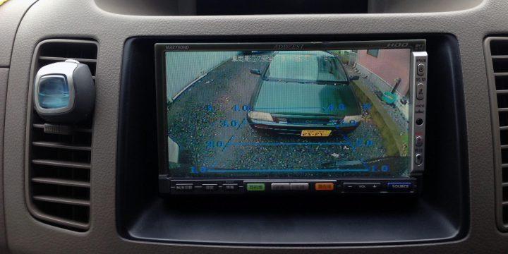 トヨタノア純正モニター配線から社外ナビへのバックカメラ映像