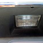 メルセデスベンツW220ライセンスランプLED化