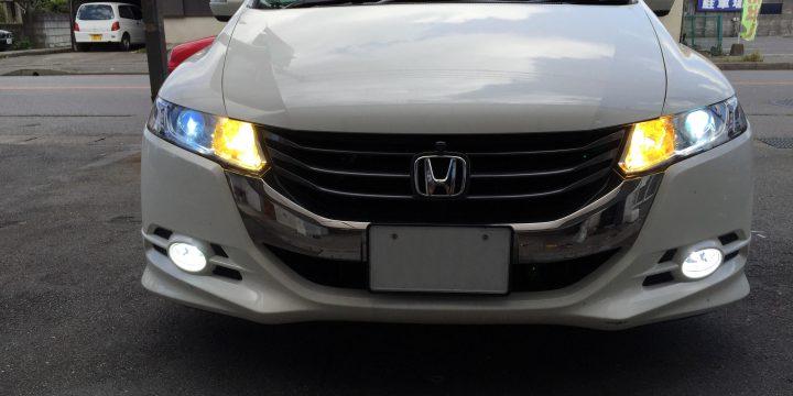 ホンダRB3オデッセイヘッドライト&フォグランプHID化の為3本のリレーを設置