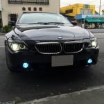 BMW-E63フォグランプHID化