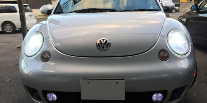 VWニュービートルヘッドライトHID化