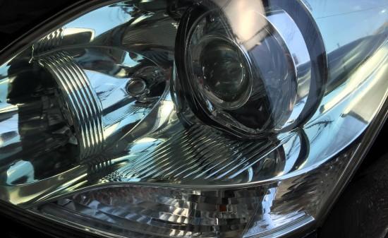 トヨタ30セルシオヘッドライトリフレッシュ(黄ばみ取り)