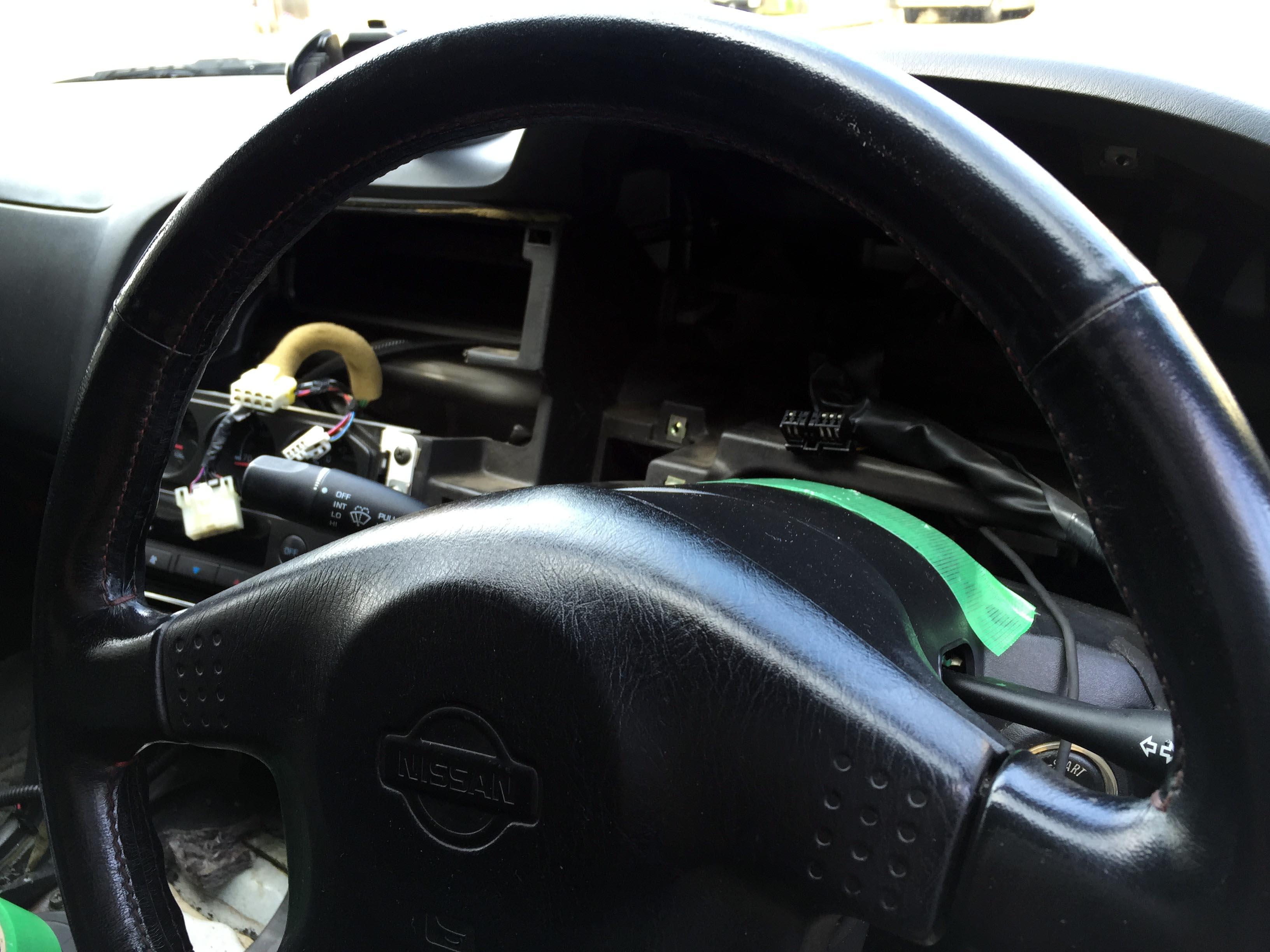 日産R33スカイラインGT-Rのメーターを交換します