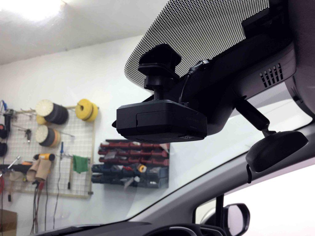 トヨタ新型シエンタへケンウッドKNA-DR500ドライブレコーダーを取り付け