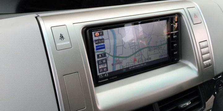 トヨタ50系エスティマにパナソニックCN-RS01WDを取り付けました