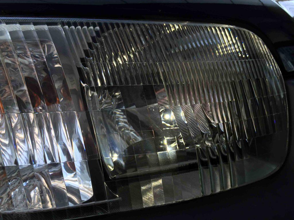 フォードエスケープのポジションランプをLED化致しました