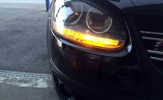 VWのウインカーバルブをLED化した点灯時