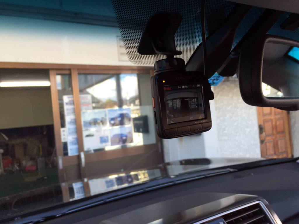 トヨタ150系プラドにケンウッドKNA-DR300ドライブレコーダーを取り付けました