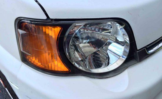 ホンダS-MXのヘッドライトレンズリフレッシュ後の状態