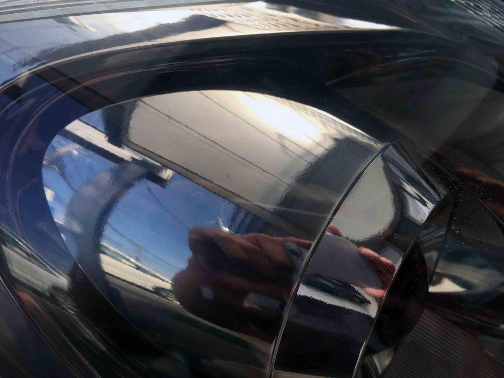 トヨタウィッシュのヘッドライトリフレッシュ後は内部も綺麗に見えます