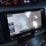 イハツL175系ムーヴへ取り付けたAVIC-RZ99のナビ画面