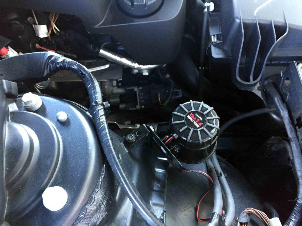 BMW3シリーズF31へ取り付けたロック音ver2.6MONO-TONEのサイレン