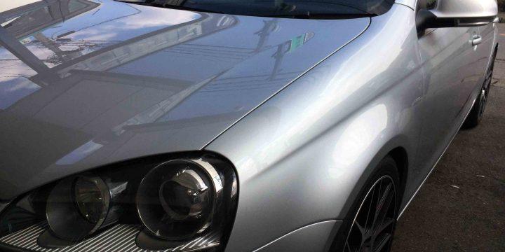 VWフォルクスワーゲンジェッタへエシュロンZen-Xeroダイナミック施工後フロント側