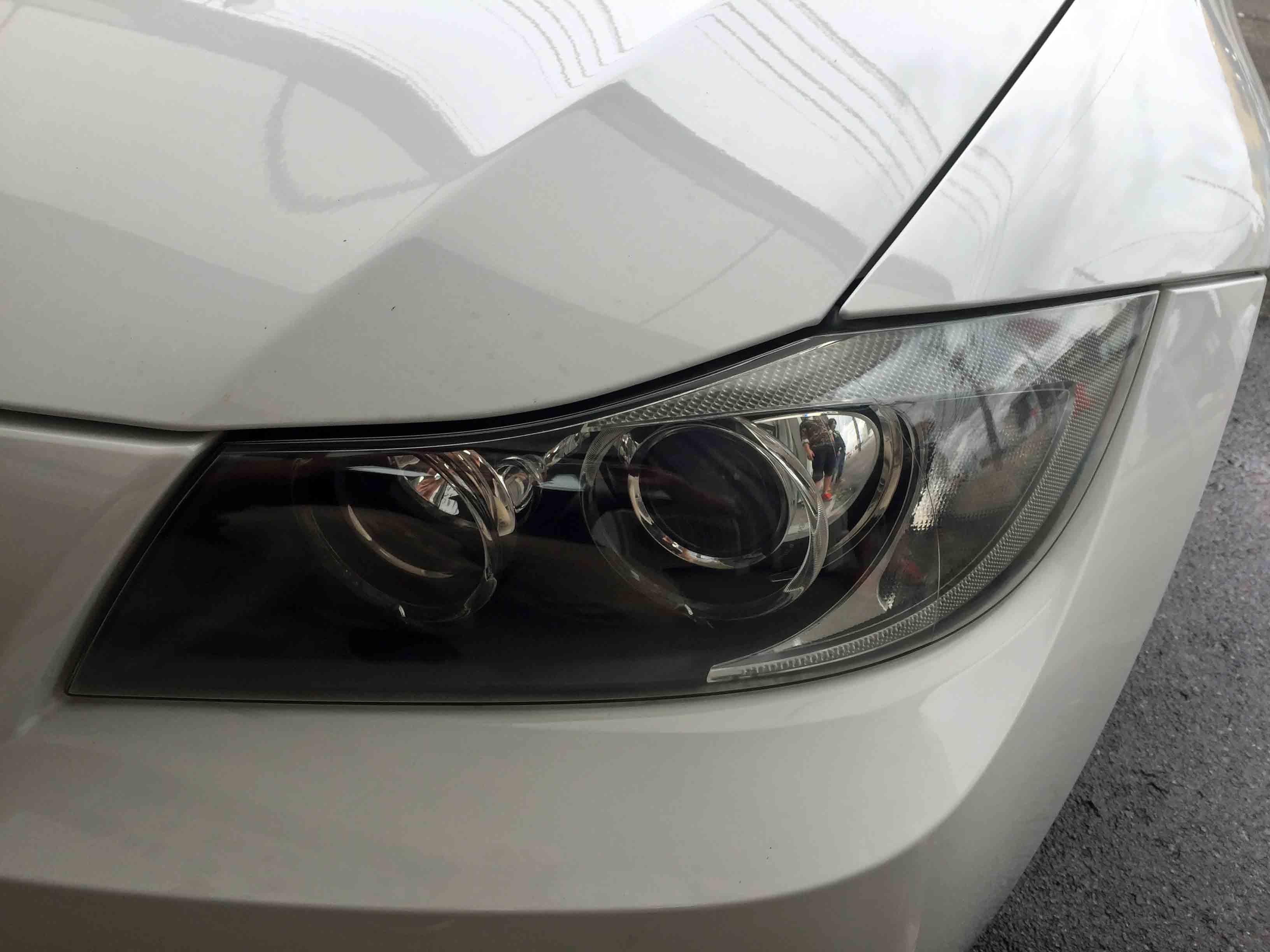 BMW3シリーズE91のヘッドライトがクリアーな状態へ戻りました