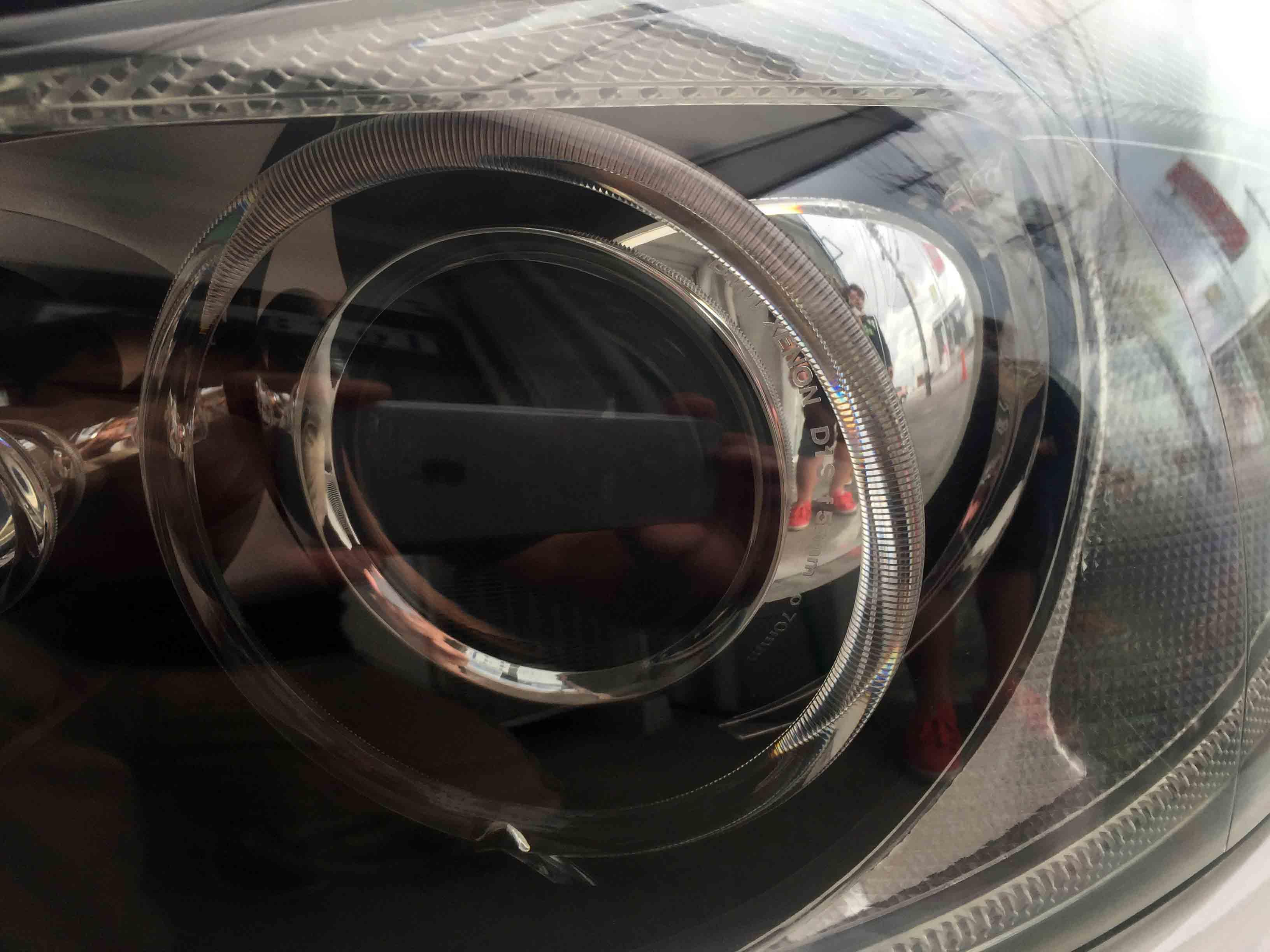 BMW3シリーズE91のヘッドライト内部も綺麗に見える様になりました