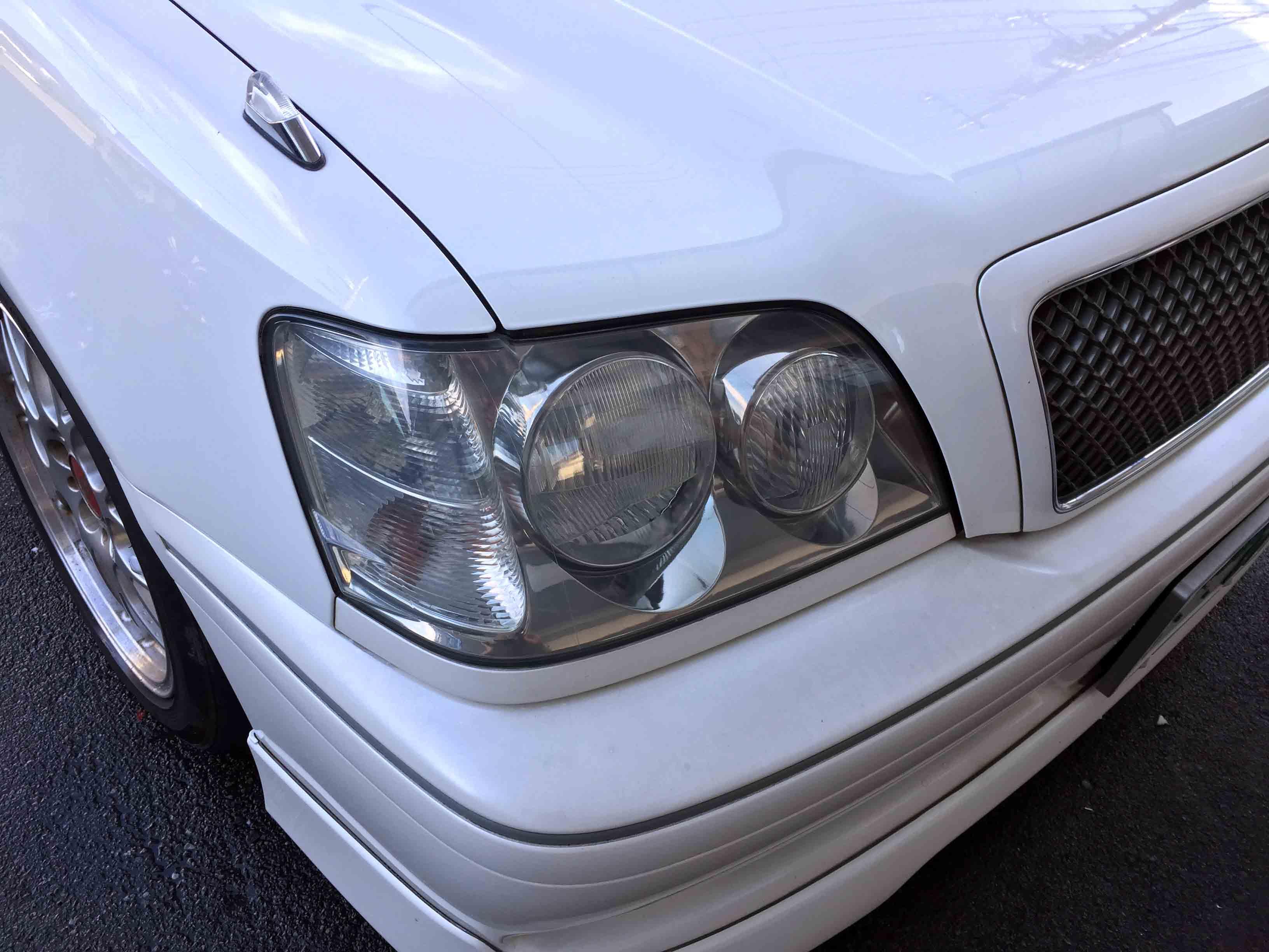 トヨタ17系クラウンのヘッドライトリフレッシュ後