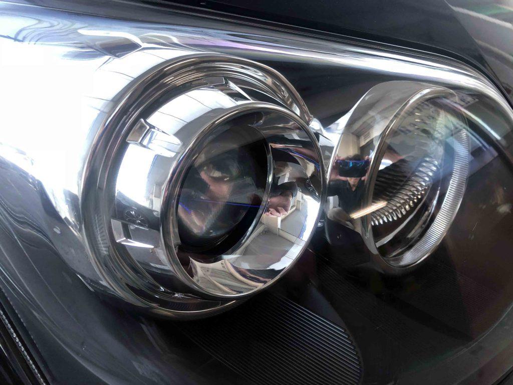ダイハツムーヴのヘッドライトリフレッシュ後は内部も綺麗に見えます