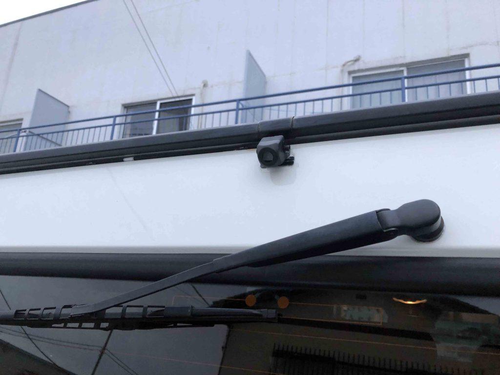 メルセデスベンツGクラス(ゲレンデ)に取り付けたバックカメラ