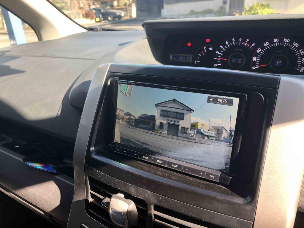 トヨタヴォクシー70系に取り付けたCA-DR02Dドライブレコーダーの映像